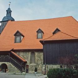 Kirche von Dornheim Hochzeitskirche von Johann Sebastian Bach