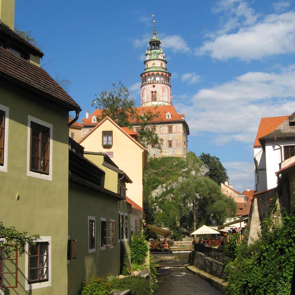 Südböhmen Reise