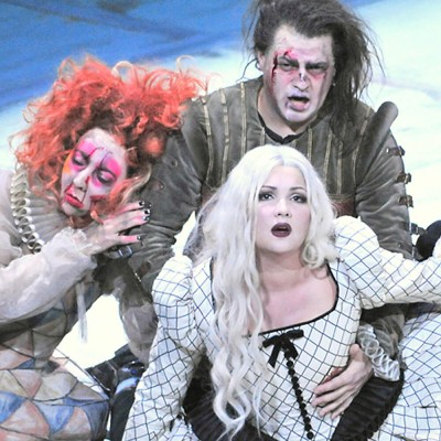 """""""Macbeth"""" mit Anna Netrebko Anna Netrebko in Il trovatore in Berlin"""