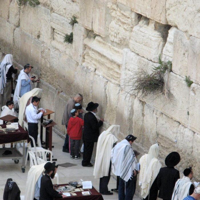 Israel Rundreise Klagemauer