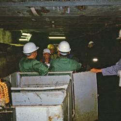 Bergwerk in Freiberg