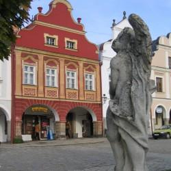 Telc Marktplatz Tschechien