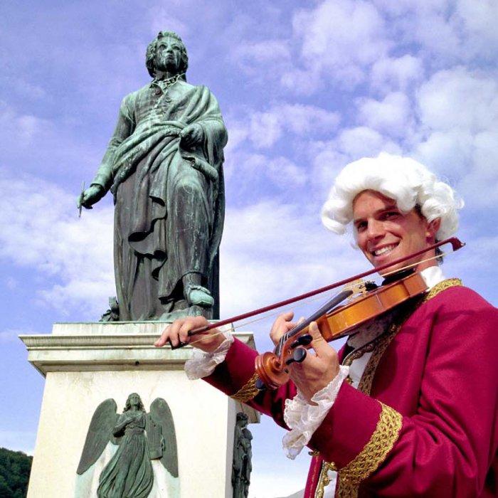 footsteps of Mozart