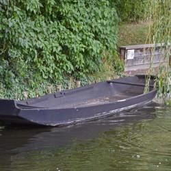 Spreewald mit Boot