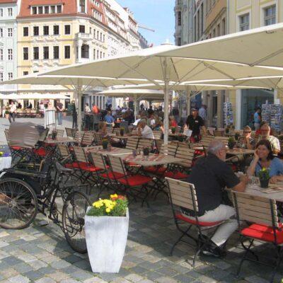 Neumarkt an der Frauenkirch in Dresden