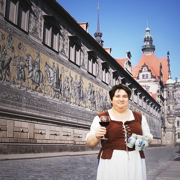 Stadtführung Dresden mit weinprobe