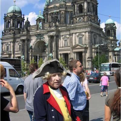 Rundgang mit König Friedrich
