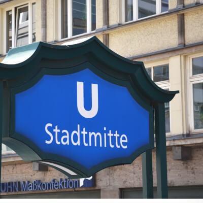 U-Bahn Stadtmitte Berlin