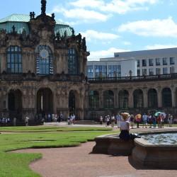 Blick in der Zwinger Dresdenn d