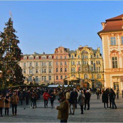 Prag Weihnachten Silvester