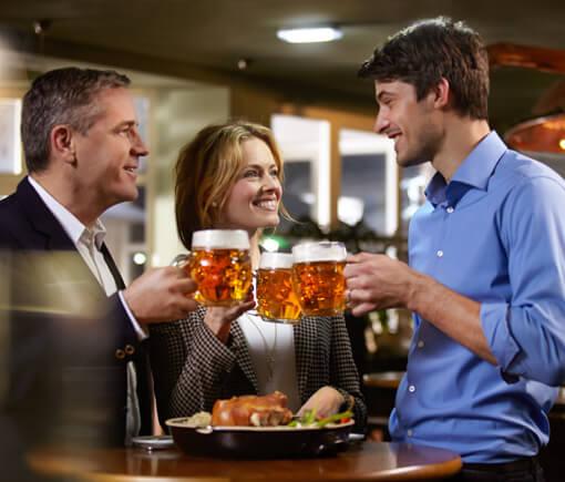 Das berühmte tschechische Bier