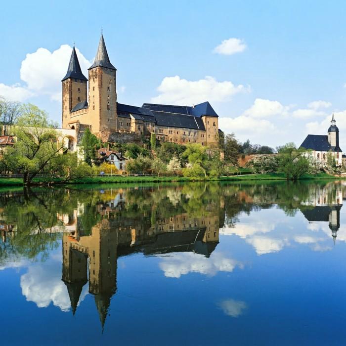 Sächsische Tal der Burgen