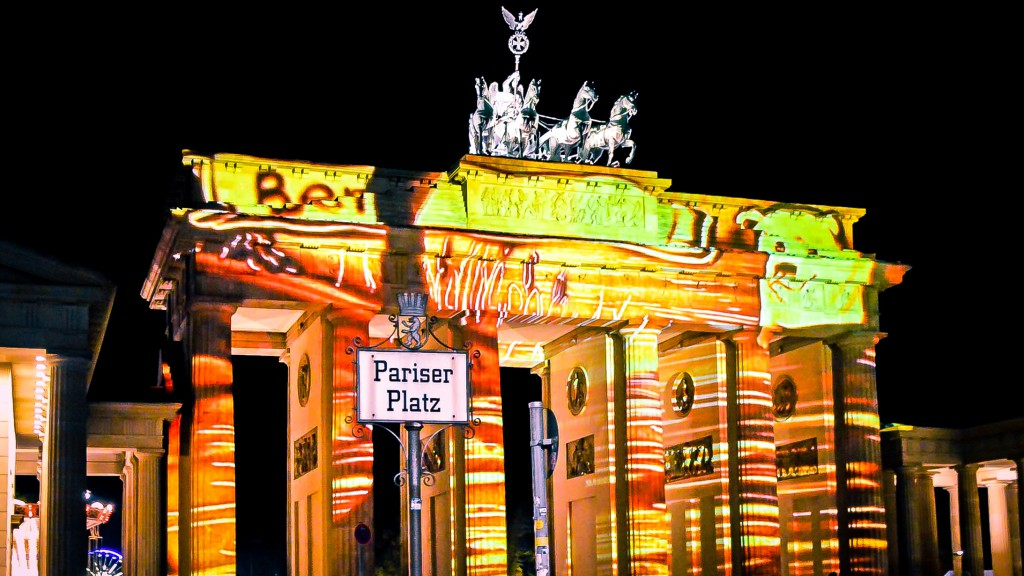 Berlin leuchtet Brandenburger Tor