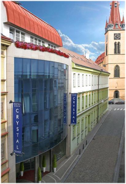 Hotel Crystal Palace Prag Aussenansicht