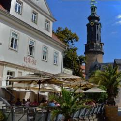 Weimar Cafe Resi und Schloss
