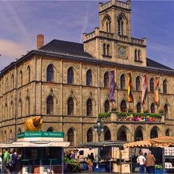 Weimar Rathaus mit Markt