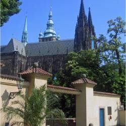 Blick zum Hradschin Prag
