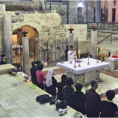 Verkündigungsbasilika Nazareth Israel