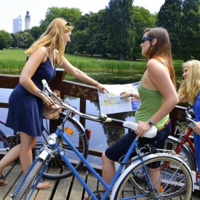 Mit dem Fahrrad Leipzig entdecken