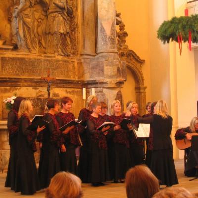 Chorreise Dresden Chorauftritt Dreikönigskirche