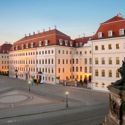 Kempinski Dresden Außenansicht