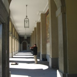 München-Durchgang zum Hofgarten