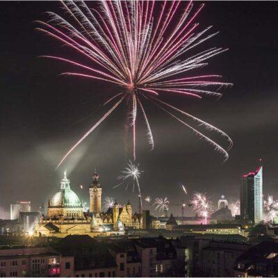 Jahreswechsel Leipzig