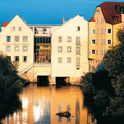 Sorat Hotel Regensburg Außenansicht