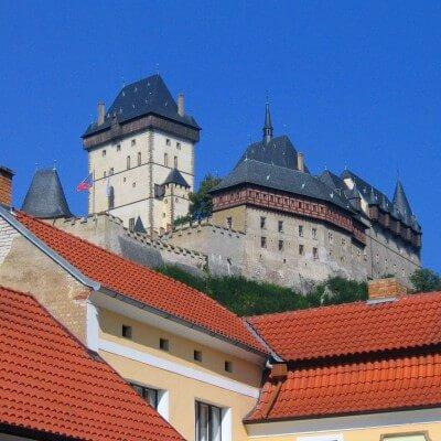 Ausflug zur Burg Karlstein