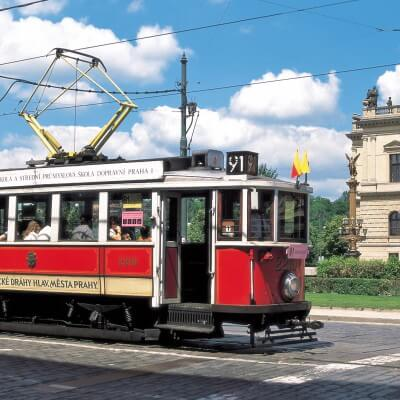 Nostalgiefahrt Prag