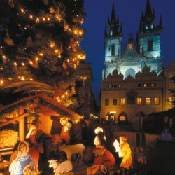Silvester auf der Moldau