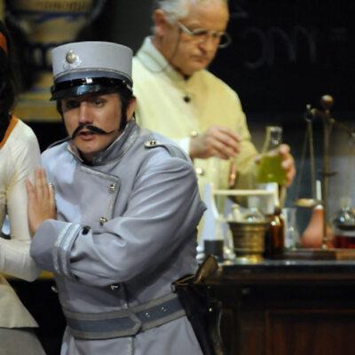 Oper Barbier von Sevilla Semperoper