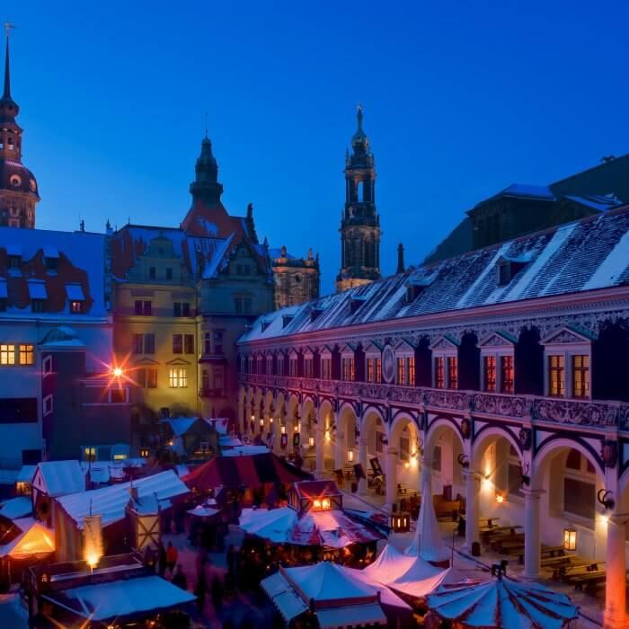 Weihnachtsmarkt im Stallhof