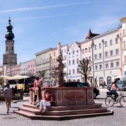 Marienbrunnen StadtplatzBurghausen
