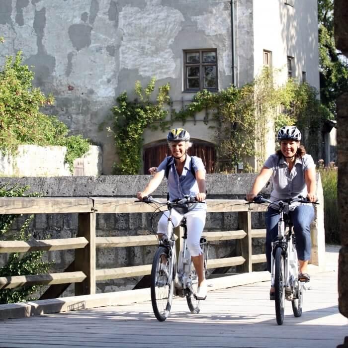 Wandern und Radeln in Bayern