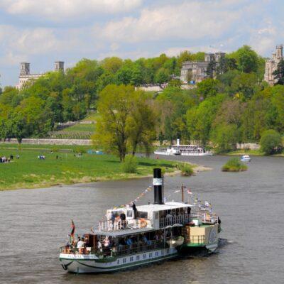 Dresden, Schifffahrt, Elbschlösser