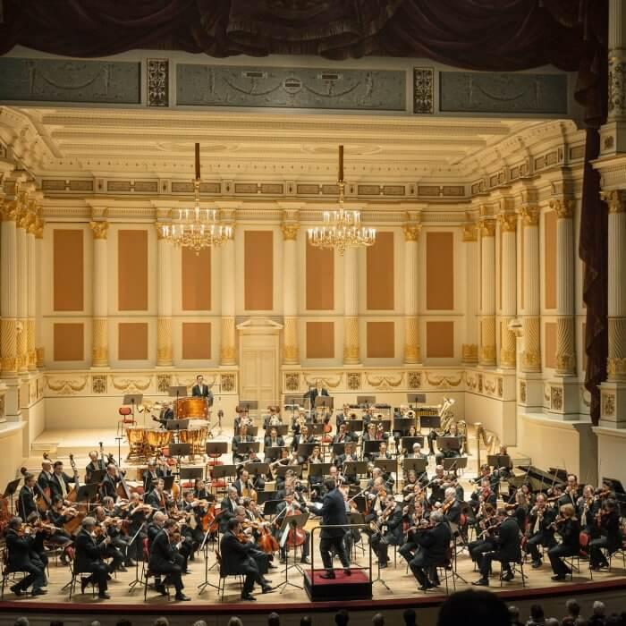 Semperoper 10. Sinfoniekonzert