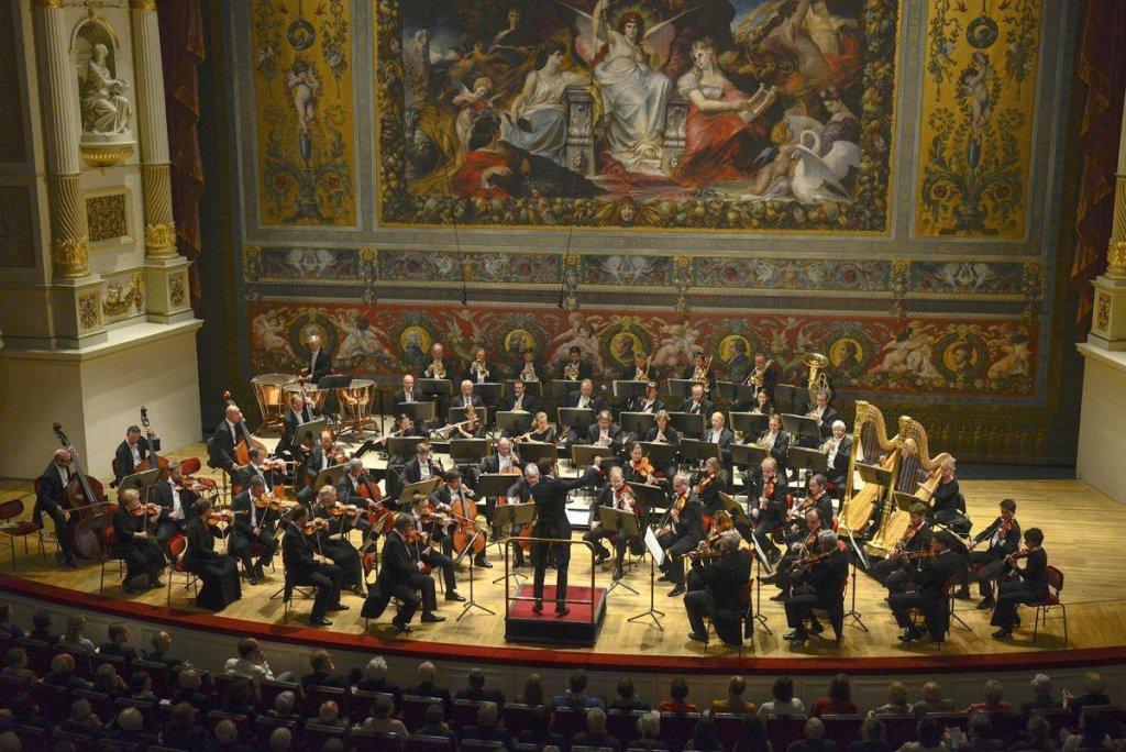 Semperoper 12. Sinfoniekonzert