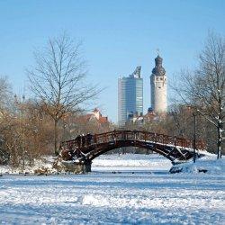 Winterliches Leipzig
