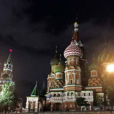 Russland Moskau Petersburg Reise