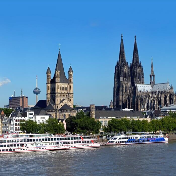 Rhine castles tour